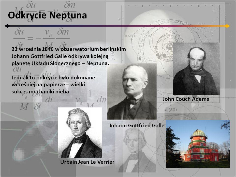 Odkrycie Neptuna 23 września 1846 w obserwatorium berlińskim