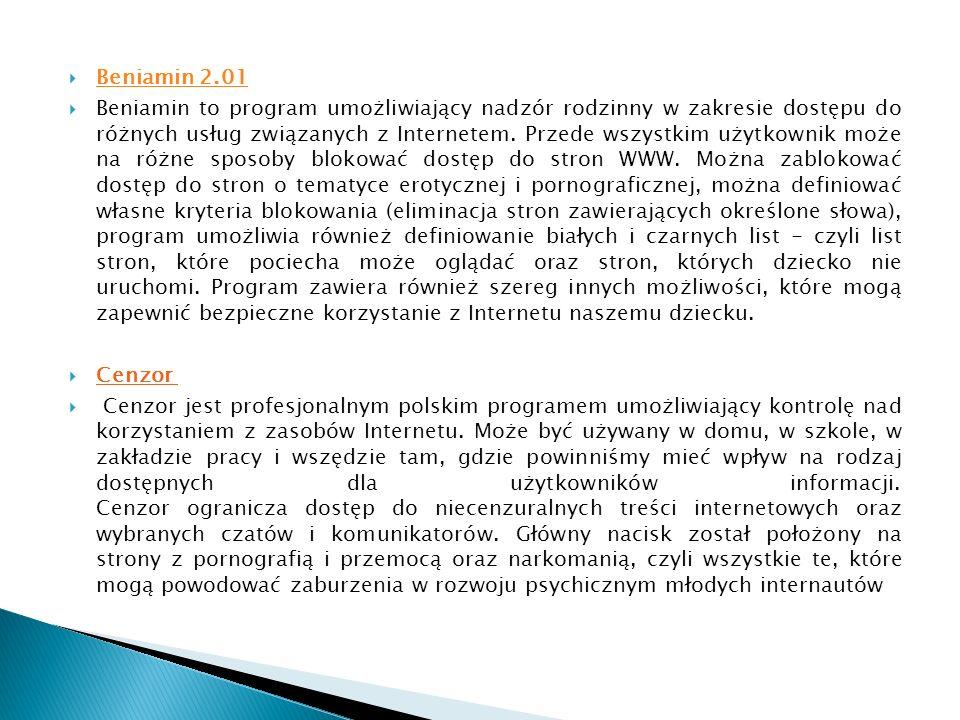 Beniamin 2.01