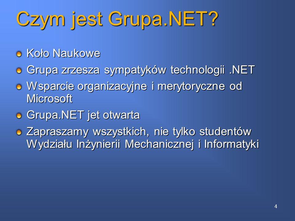 Czym jest Grupa.NET Koło Naukowe