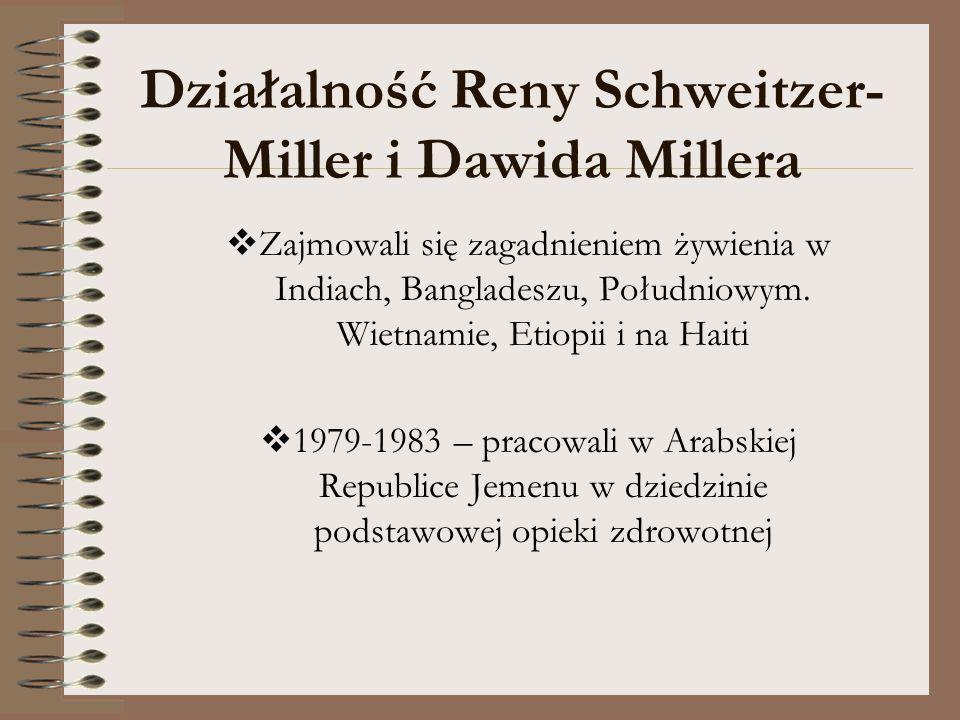 Działalność Reny Schweitzer-Miller i Dawida Millera