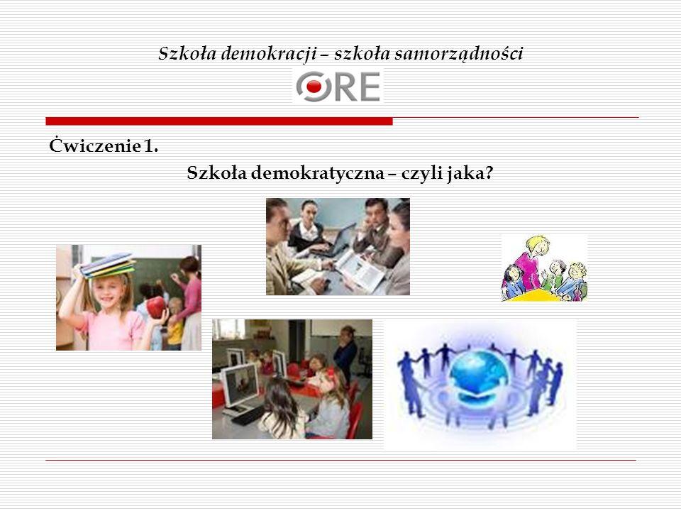 Szkoła demokracji – szkoła samorządności