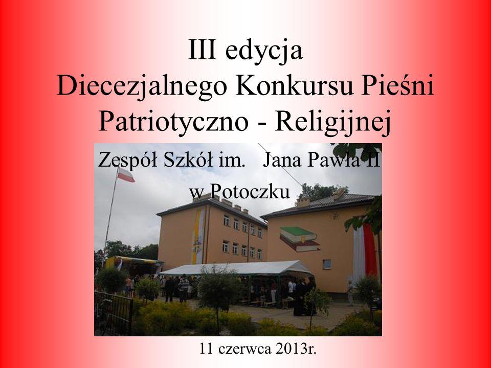 III edycja Diecezjalnego Konkursu Pieśni Patriotyczno - Religijnej