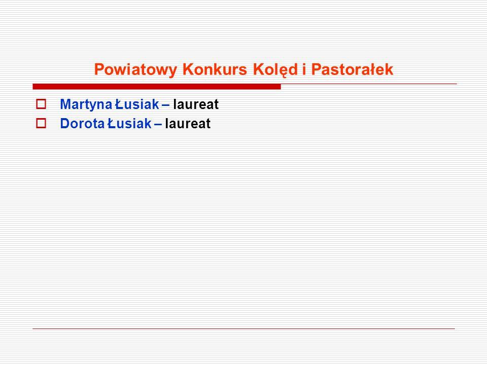 Powiatowy Konkurs Kolęd i Pastorałek