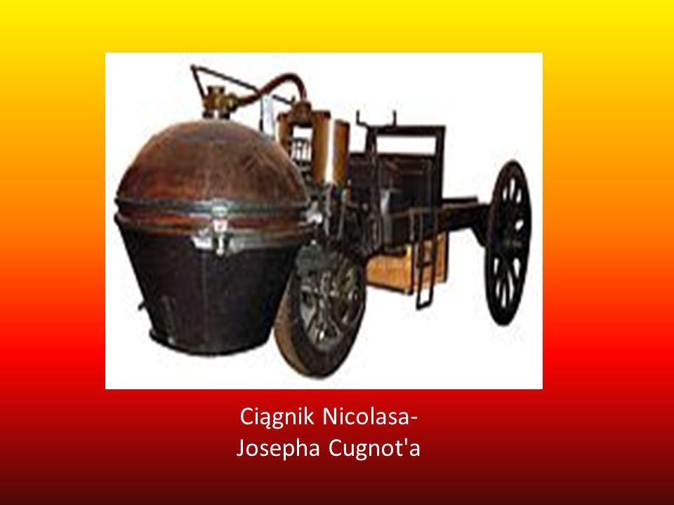 Ciągnik Nicolasa-Josepha Cugnot a