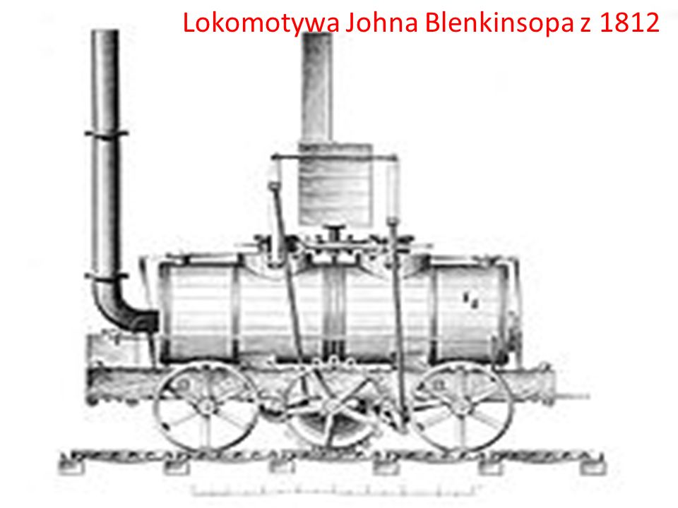 Lokomotywa Johna Blenkinsopa z 1812