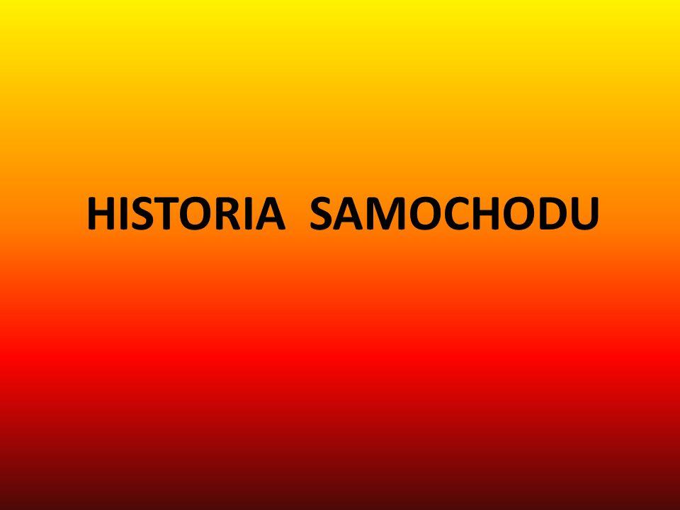 HISTORIA SAMOCHODU
