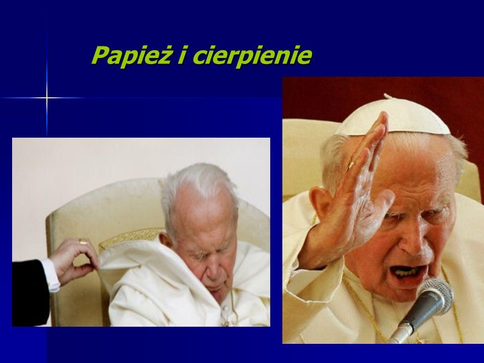 Papież i cierpienie