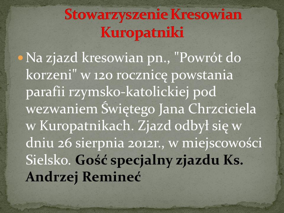 Stowarzyszenie Kresowian Kuropatniki