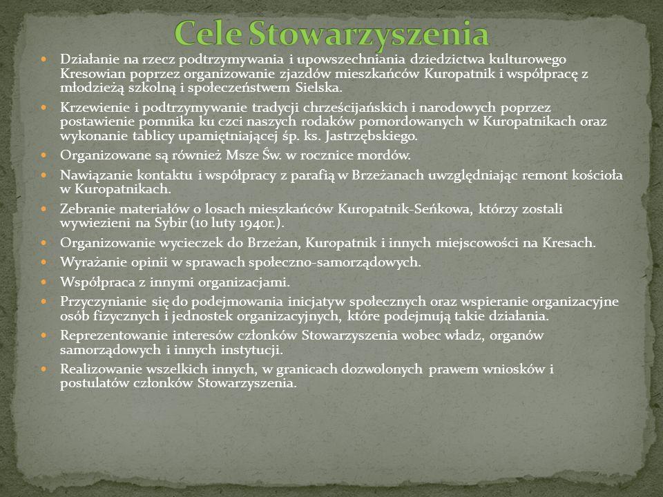 Cele Stowarzyszenia