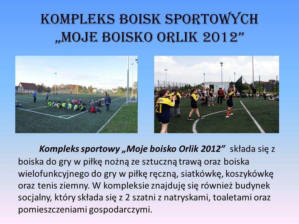 """Kompleks Boisk Sportowych """"Moje Boisko Orlik 2012"""