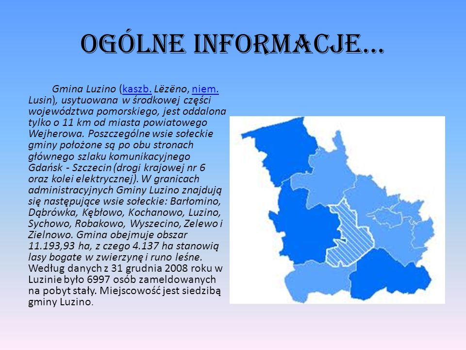 Ogólne informacje…
