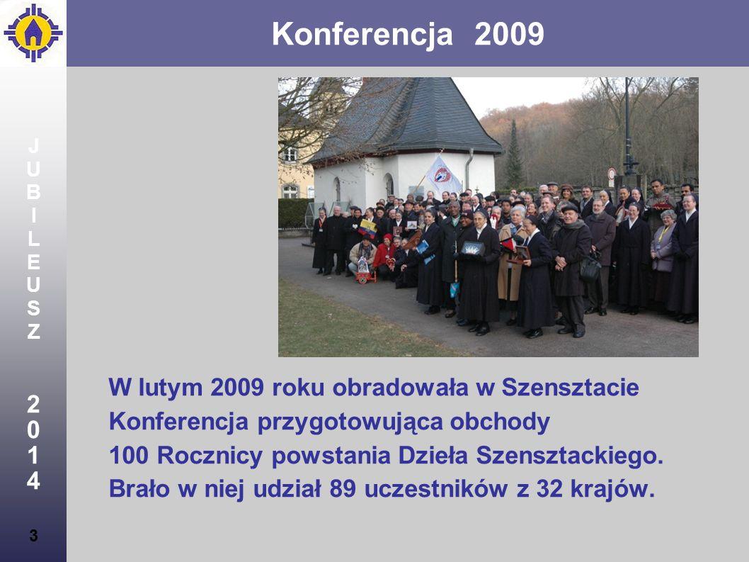Konferencja 2009 2 1 4 W lutym 2009 roku obradowała w Szensztacie