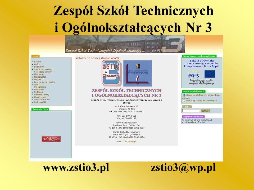 Zespół Szkół Technicznych i Ogólnokształcących Nr 3