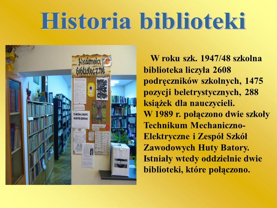 Historia biblioteki