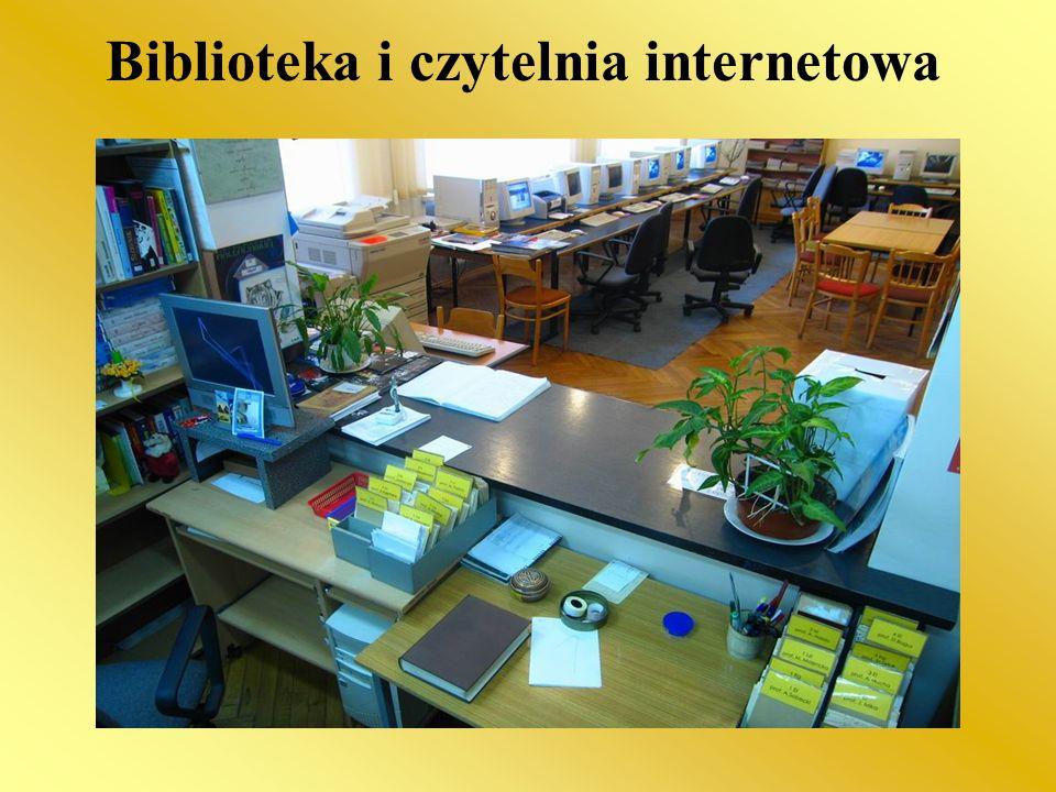 Biblioteka i czytelnia internetowa