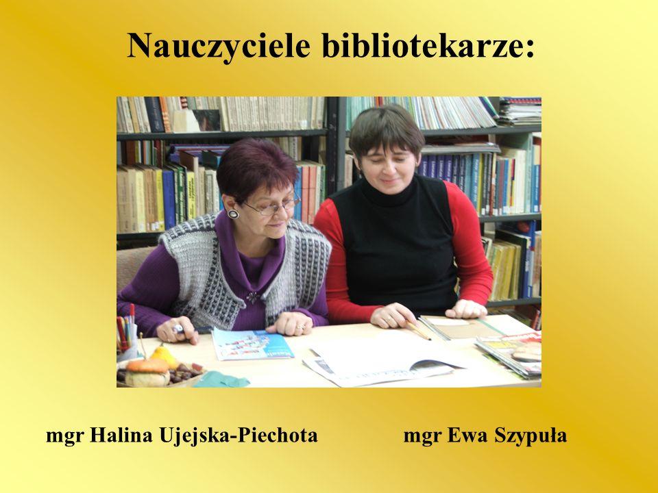 Nauczyciele bibliotekarze: