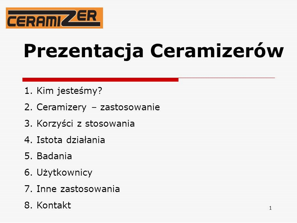 Prezentacja Ceramizerów