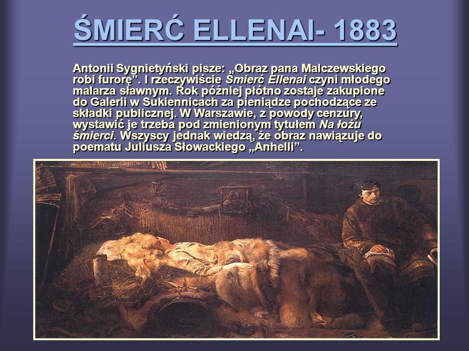 ŚMIERĆ ELLENAI- 1883