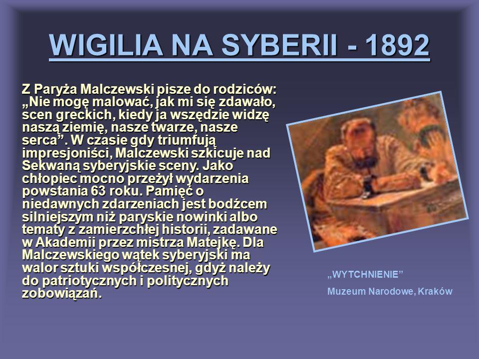 WIGILIA NA SYBERII - 1892