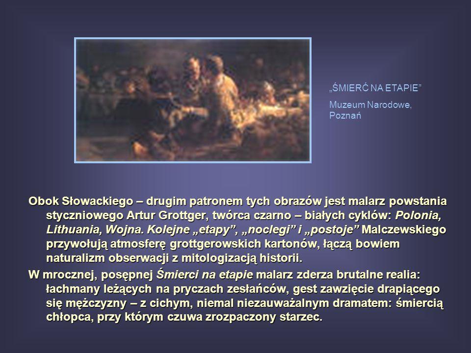 """""""ŚMIERĆ NA ETAPIE Muzeum Narodowe, Poznań."""
