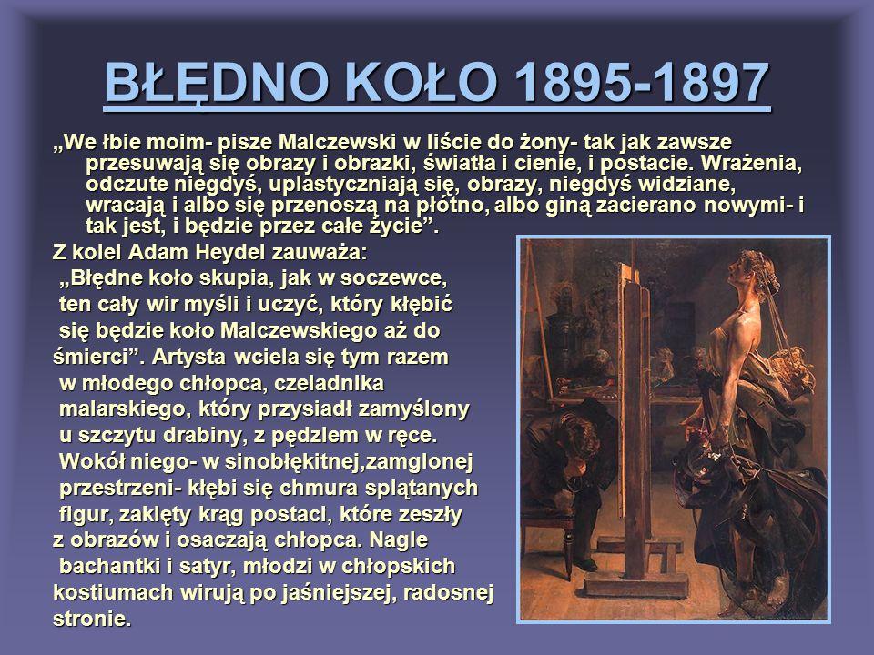 BŁĘDNO KOŁO 1895-1897