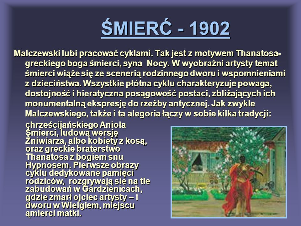 ŚMIERĆ - 1902