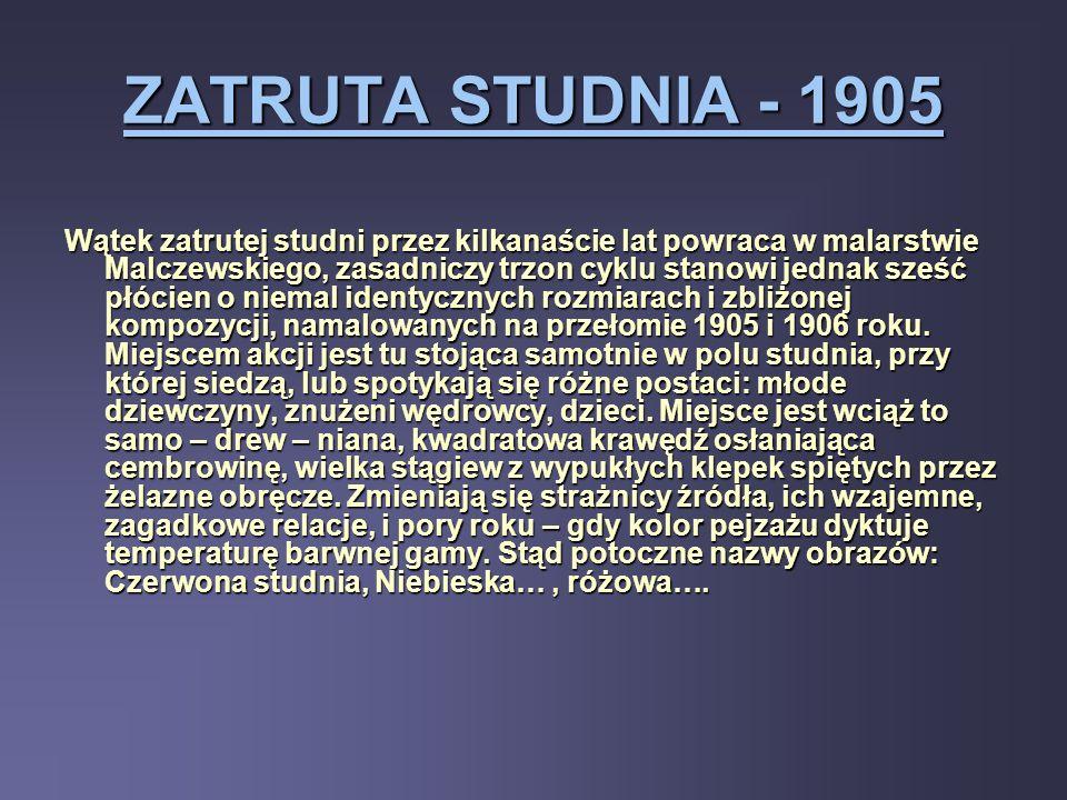 ZATRUTA STUDNIA - 1905