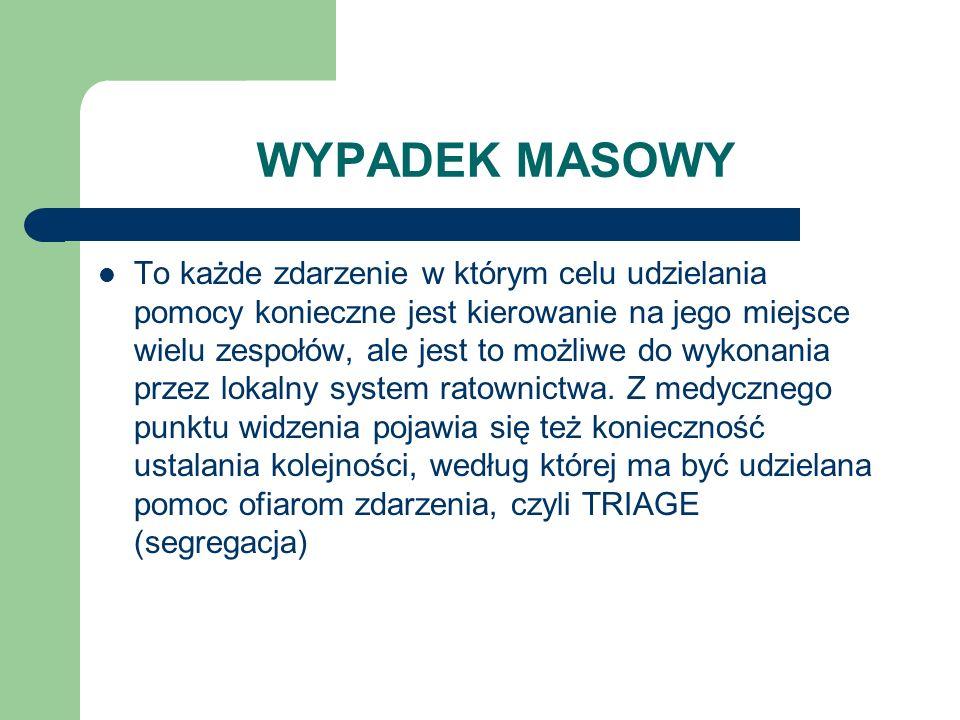 WYPADEK MASOWY