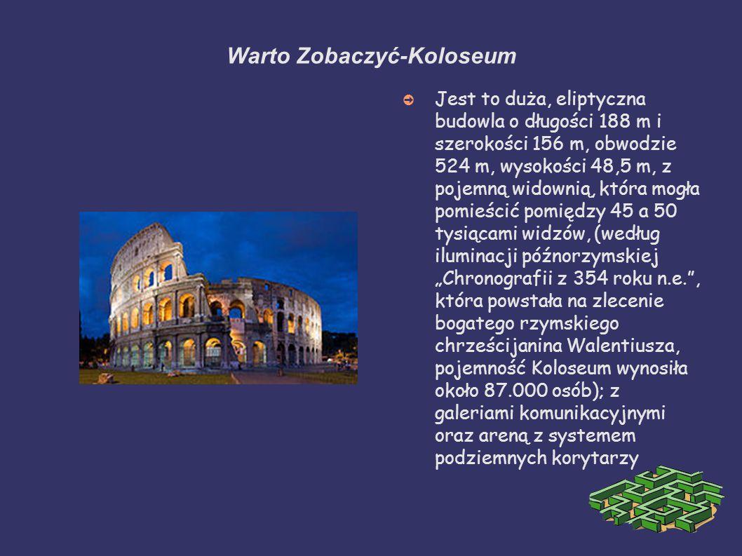 Warto Zobaczyć-Koloseum