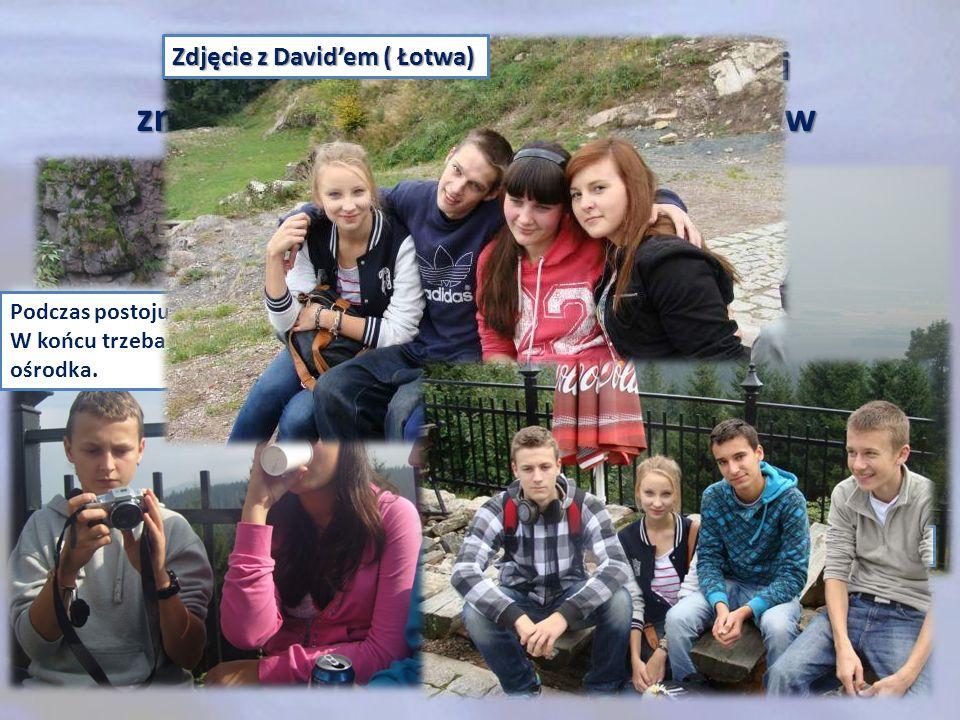 Zdjęcie z David'em ( Łotwa)