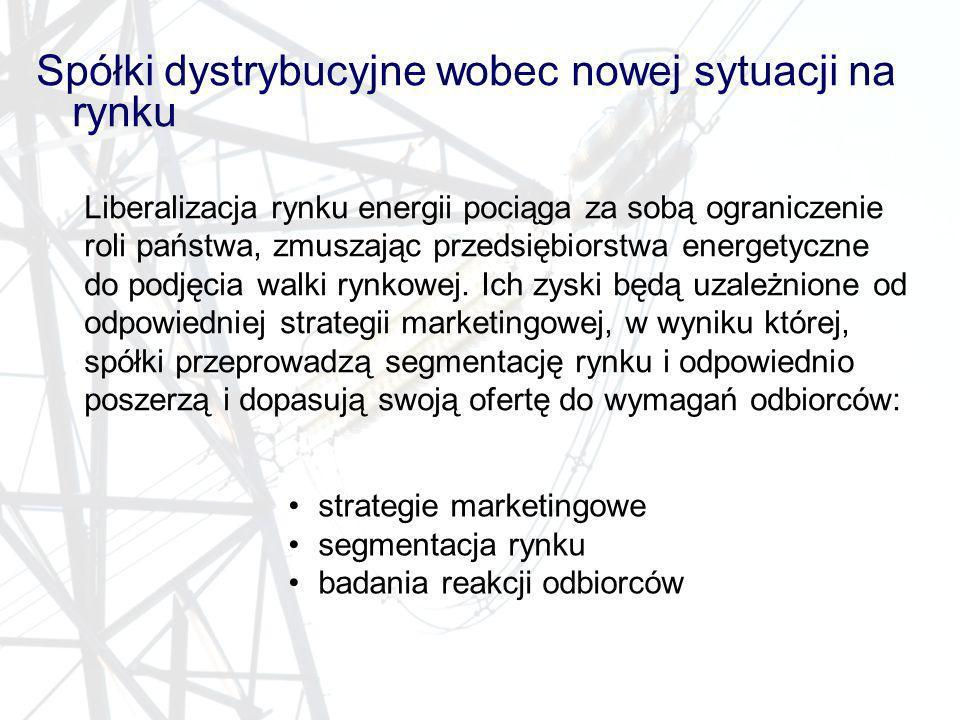 Spółki dystrybucyjne wobec nowej sytuacji na rynku