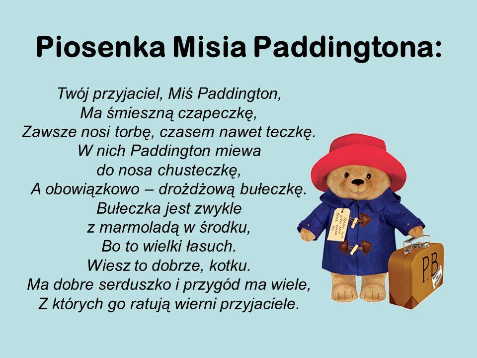 Piosenka Misia Paddingtona: