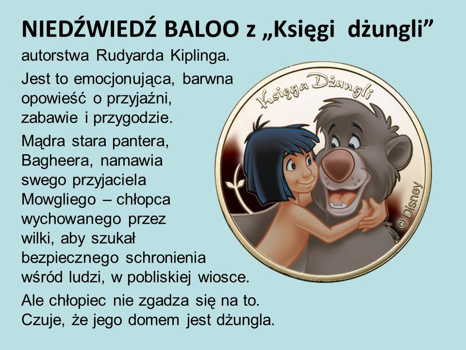 """NIEDŹWIEDŹ BALOO z """"Księgi dżungli"""