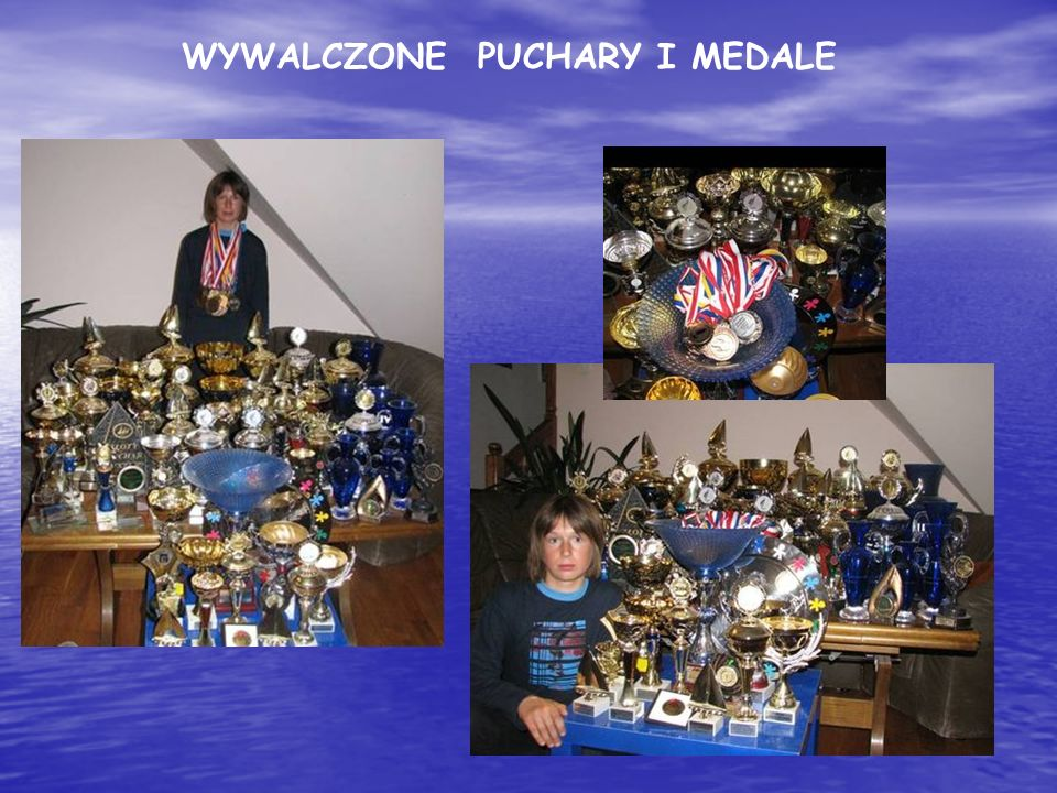 WYWALCZONE PUCHARY I MEDALE