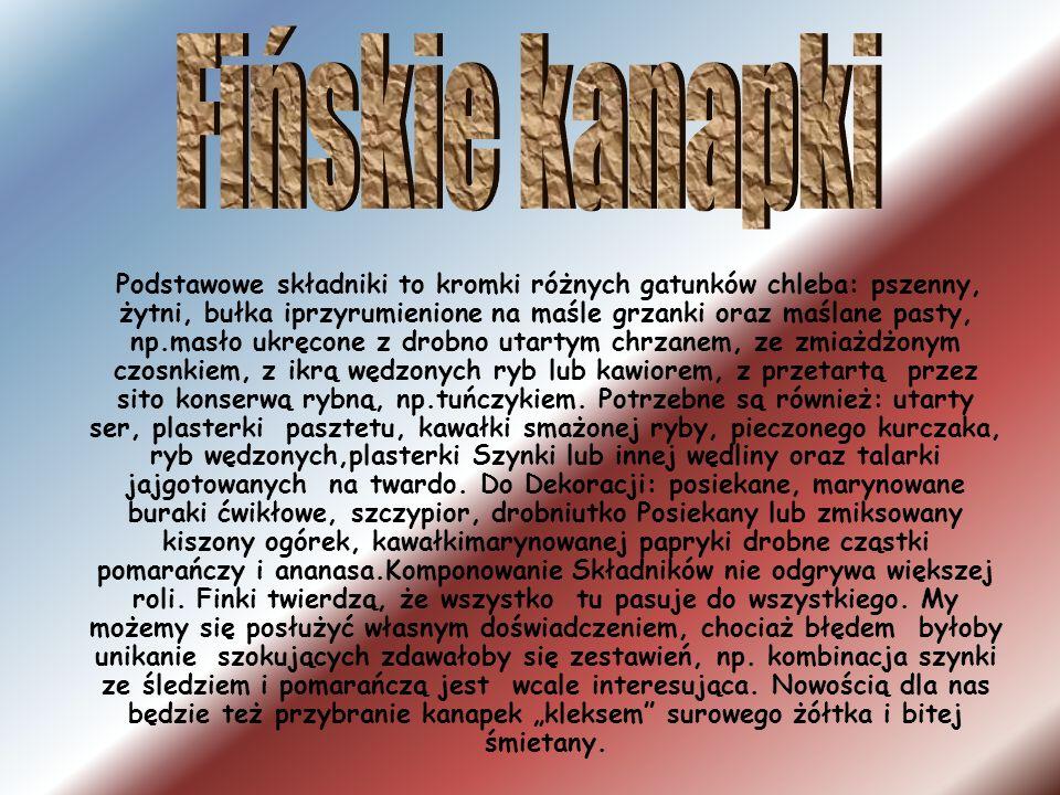 Fińskie kanapki