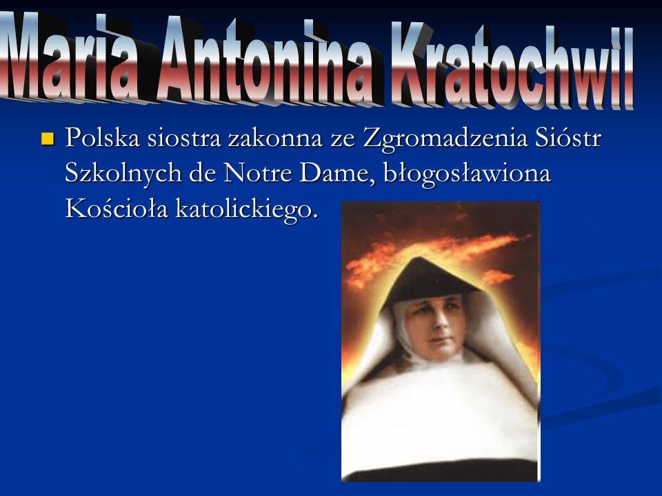 Maria Antonina Kratochwil