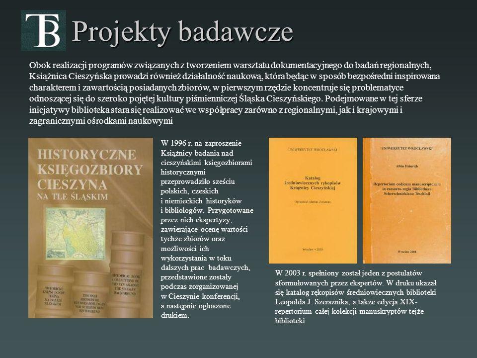Projekty badawcze