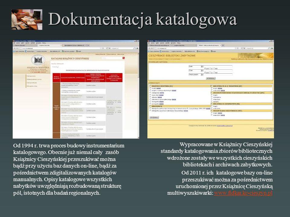Dokumentacja katalogowa