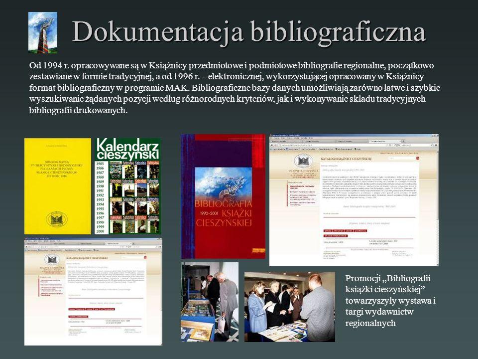 Dokumentacja bibliograficzna