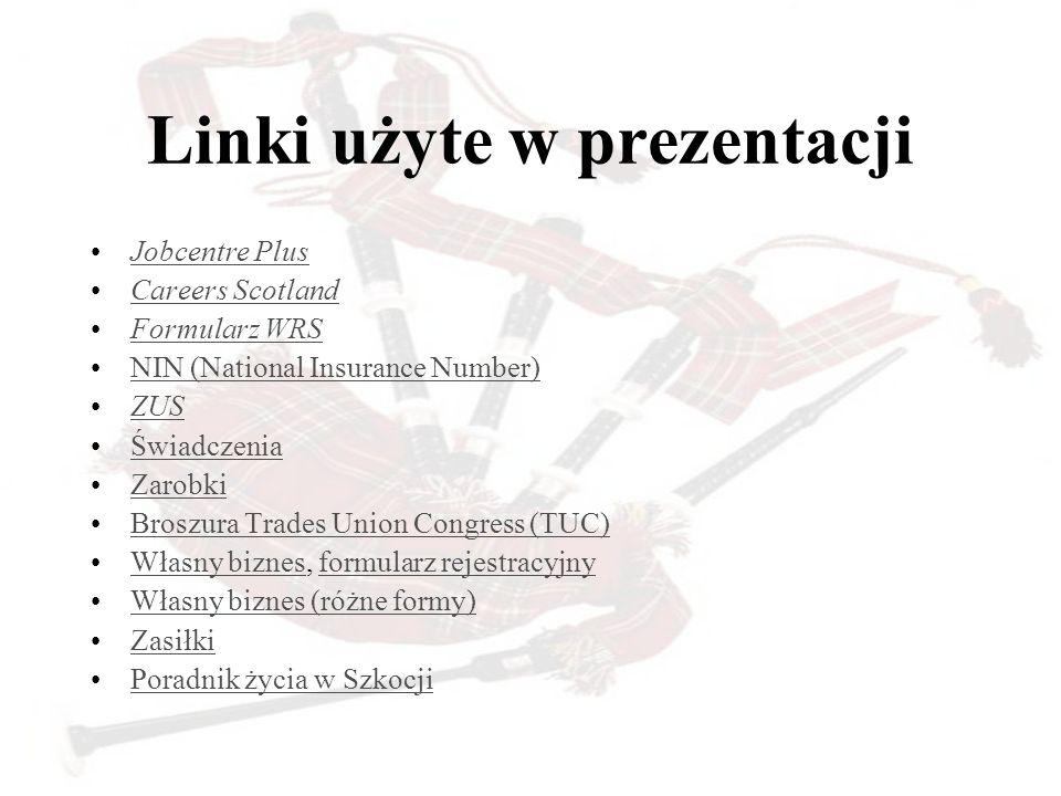 Linki użyte w prezentacji