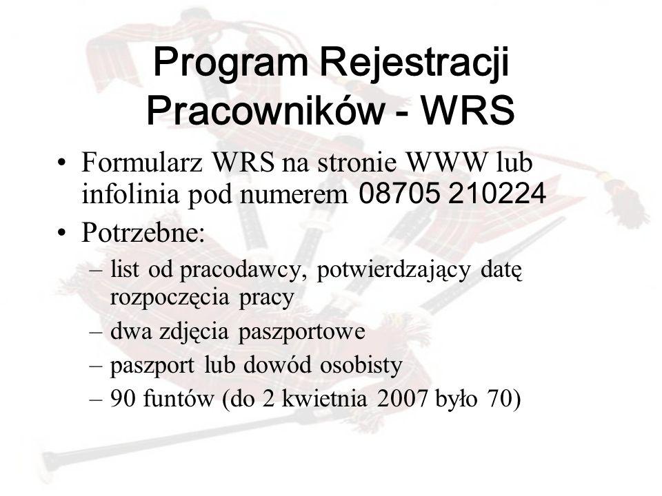 Program Rejestracji Pracowników - WRS