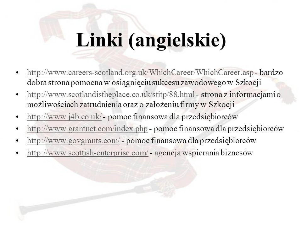 Linki (angielskie)