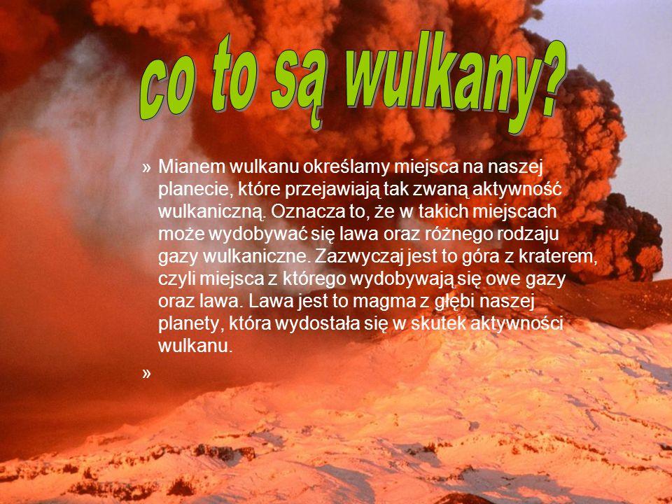 co to są wulkany