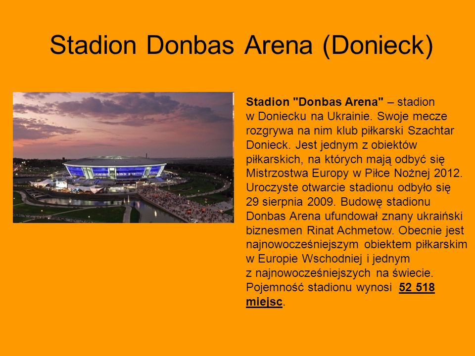 Stadion Donbas Arena (Donieck)