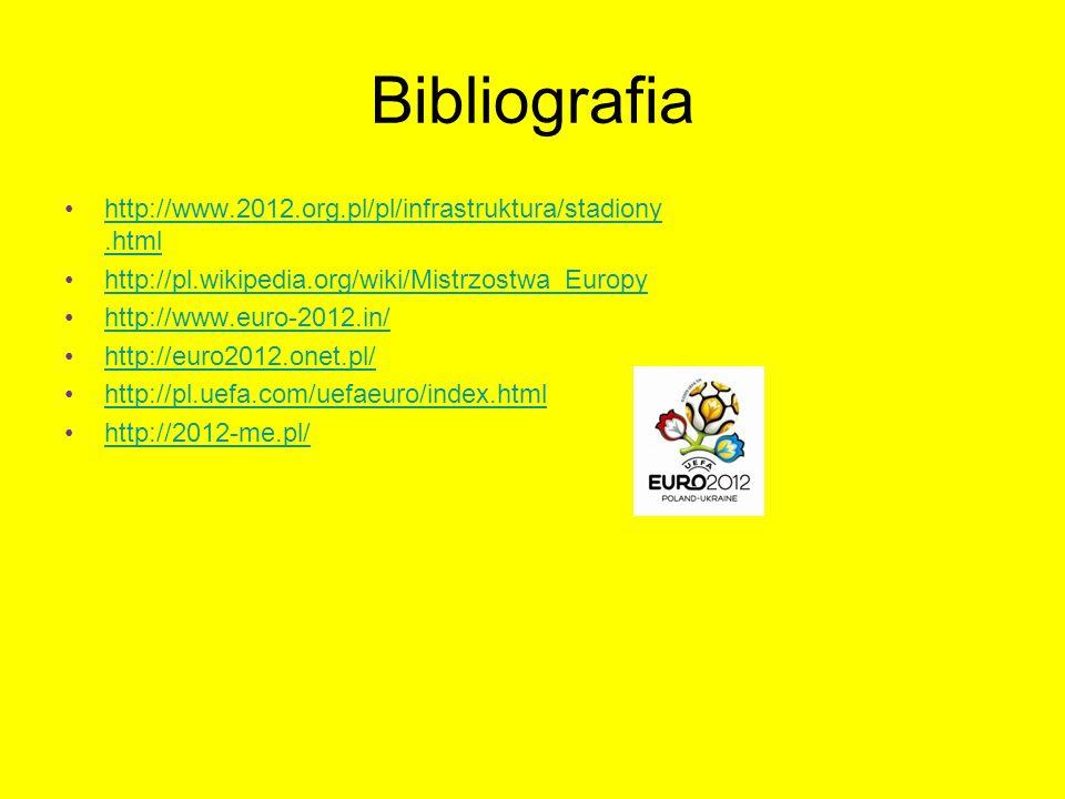 Bibliografia http://www.2012.org.pl/pl/infrastruktura/stadiony.html