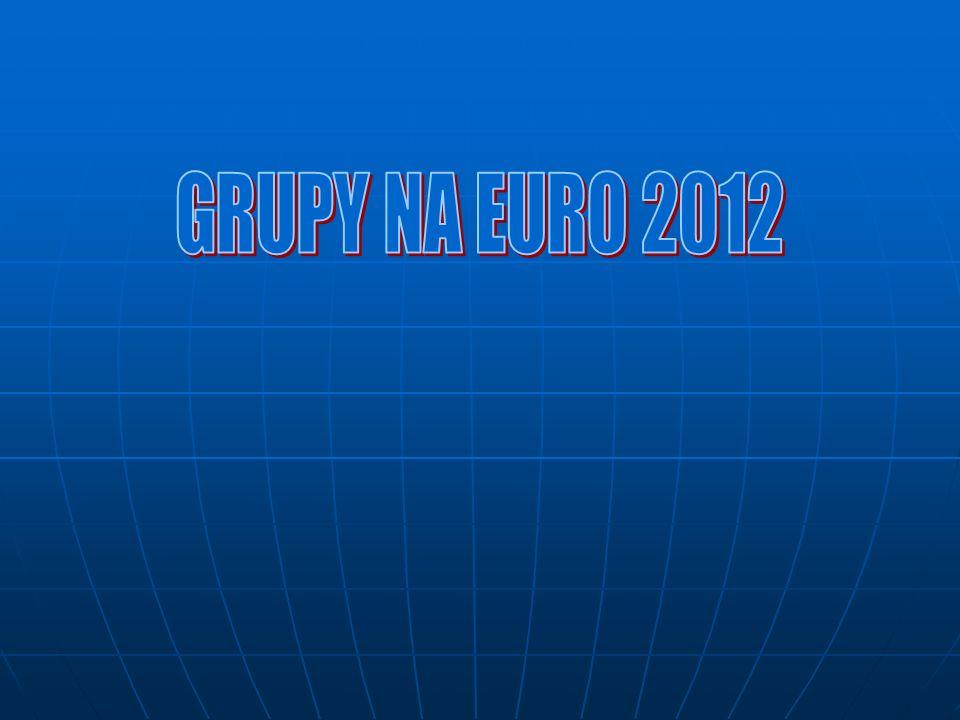 GRUPY NA EURO 2012
