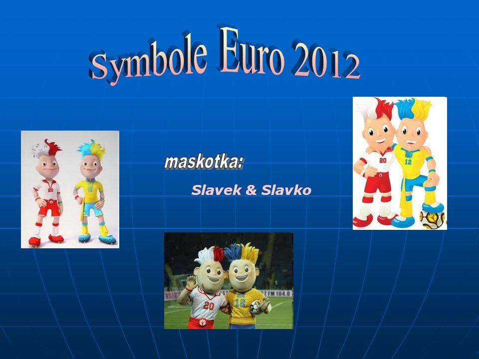 Symbole Euro 2012 maskotka: Slavek & Slavko