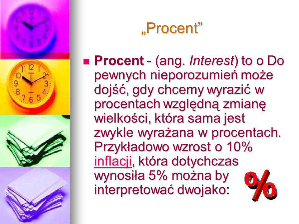 """Procent"