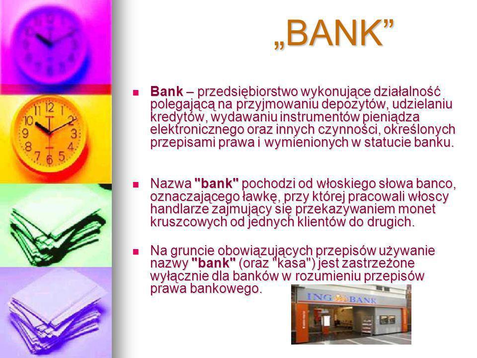 """""""BANK"""