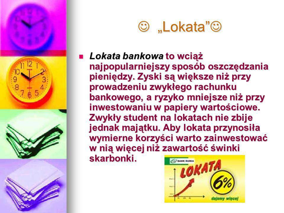 """ """"Lokata """